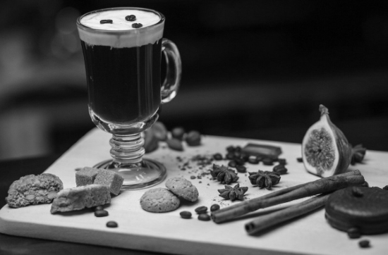 Baijiu Irish Coffee